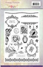 Jeanine's Art Flores Vintage A5 claro se aferran sello 20 un. Jac 10013