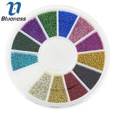 Blueness 1Wheel Caviar Ball Nail Art Rhinestone 12Color Glitter Decoration ZP206
