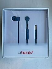 Beats by Dr. Dre urBeats3 Wired Earbud Stereo Earset -Blue - In-ear - Mini-phone
