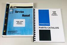 International Farmall 1206 Diesel Tractor Service Manual Parts Catalog Shop Book