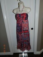 Maurices Women's Dress, size S, blue/navy
