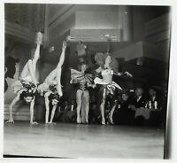 FRANCE Paris Bal Tabarin Danse Acrobatique ca 1930, Photo Stereo Cellulose VR2L