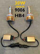 LOW BEAMS 30W CANBUS LED 9006 HB4 bulbs CREE HIGH POWER xenon 6500k FOR GMC