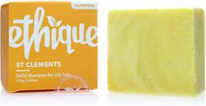 Ethique - St Clements - 110g - Eco-Friendly Solid Shampoo Bar for Oily Hair