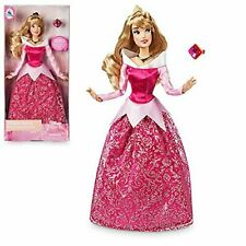 Disney Princess Aurora Sleeping Beauty Classic Doll Boxed With Ring Gift