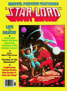 Marvel Preview #18 - Star-Lord (Spr 1979, Marvel) - Near Mint