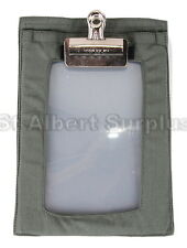 ARMY SURVIVAL CLIPBOARD - TACTICAL MAP BOARD - NEW - 171GV