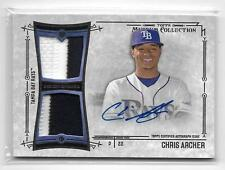 2015 TOPPS MUSEUM COLLECTION - JERSEY PATCH - AUTOGRAPH - CHRIS ARCHER /299