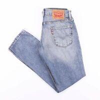 Vintage LEVI'S 511 Slim Straight Fit Men's Blue Jeans W29 L32
