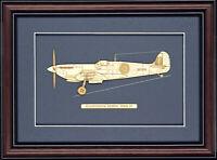 Supermarine Spitfire Mark IX - Wood Art