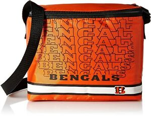 Cincinnati Bengals Fully Insulated 6-Pack Cooler / Lunch Bag - NEW!