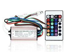 10W/20W/30W/50W RGB LED Driver IP67 Waterproof AC90V~265V With Remote Control