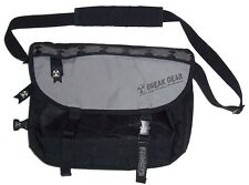 Black / Gray BREAK GEAR Messenger Bag Shoulderbag Handbag Travel-Bag