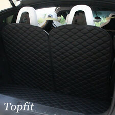 Topfit 3rd Row Back Seat Protector Mat for Tesla Model X 6/7 Seat (2 pcs /set)