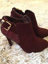 X ti TENTASIONS SPAIN, Gorgeous Ladies High Heel Ankle Shoes, size 3 ( eu 36)