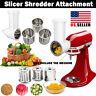 Prep Slicer & Shredder Attachment for KitchenAid Stand Mixer Food Home Kitchen