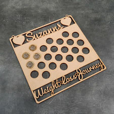 Personalised 2 Stone Weight Loss Journey Craft Sign - Laser Cut Craft Blanks