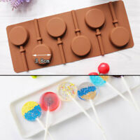 Round Lollipop Chocolate Pudding Jelly Candy Cookie Biscuit Mold Cake Decor