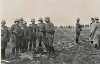 WW2 STAHLHELM GERMAN SOLDIERS OFFICERS WEHRMACHT ORG.WAR PHOTOS LOT OF 2