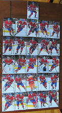 2013-14 MONTREAL CANADIENS TEAM SET ISSUE POST CARD SEALED RARE! (26 CARDS)