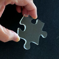 """Puzzibility Impossible Clear Puzzles - 8""""x10"""" and 70 crystal clear pieces."""