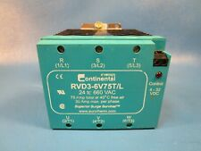Continental, RVD3-6V75T/L, Relay (Invensys)