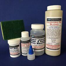 Colorworks Pro Leather/Vinyl Repair Kit for auto/truck interiors - Lexus Ecru