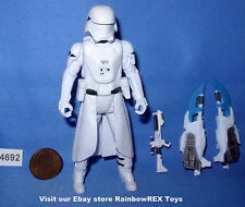 Star Wars 2015 SNOWTROOPER FIRST ORDER TFA 3.75 inch Figure COMPLETE