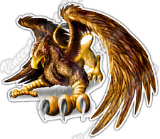 """Gryphon Gryphons Griffin Mythical Fantasy Car Bumper Vinyl Sticker Decal 4.6"""""""