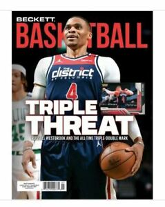 New July 2021 Beckett Basketball Card Price Guide Magazine W/ Russell Westbrook