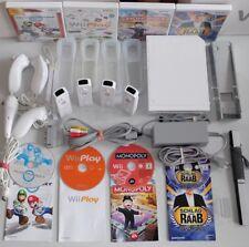 original Nintendo Wii Konsole Mario Kart Pack - 4 Spieler Set Party Spiele