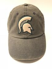 new product 78e14 76f0a Michigan State Spartans Top of The World Green Offroad Adjust Snapback Hat  Cap