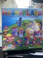 Kosherland: Beginner's game for a Jewish Child