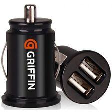 Dos puertos USB Cargador Adaptador de Mechero de Coche para Smartphones Tablets MP3