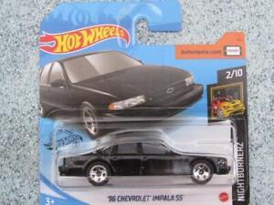 Hot Wheels 2020 #232/250 1996 CHEVROLET IMPALA SS black @N New Casting 2020