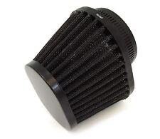 Black Performance Oval Pod Filter - 50mm - Honda CB350 CB360 CB450 CB500T