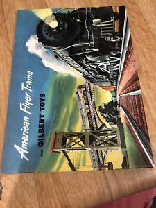 A3) American Flyer Catalog Gilbert Toys