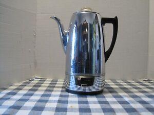 Vintage - Universal Coffeematic  No.EA-4428 Coffee Pot Percolator