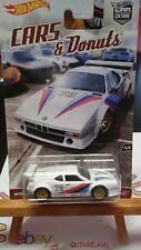 Hot Wheels Pop Culture Cars & Donuts BMW M1 Procar (N7)