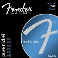 Fender 150R Pure Nickel Ball End Electric Guitar Strings gauges 10-46