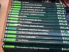 Lot de 15 livres Nature et vie à la découverte du monde vivant