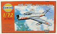 SMER MIG-17 PF, Kampfflugzeug Vietnamkrieg, Bausatz 1:72,0921