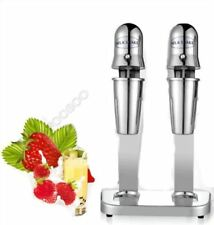 220V Stainless Steel Double Heads Milk Shake Machine Milk Mixer Commercial fh