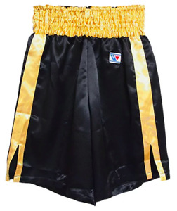 Winning Boxing Trunks, pants Red × Gold / Black × Gold Made in JAPAN Authentic