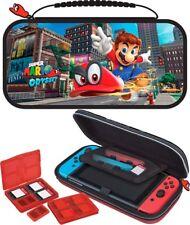 Nintendo SWITCH Mario Odyssey Travel Case Tasche Zubehör Schutzhülle Super Mario