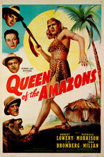 Queen of the Amazons, Old Classic movie 1947 on DVD-R