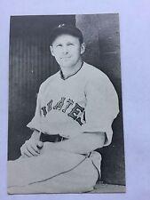 1973 Sports Scoop Jim Rowe Postcard Baseball Card Fred Lindstrom Pirates EX
