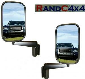 MTC5217 x2 Land Rover Defender Door Wing Mirror and Arm (PAIR) 90 110 130 Series