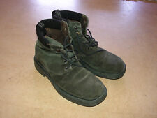 VERSACE jeans couture VJC men's leather suede army boots 43 9 made in Italy