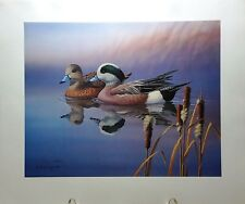 Ward Foundation Wigeon Duck Print - Ronald Louque 1st place winner S & N ltd ed